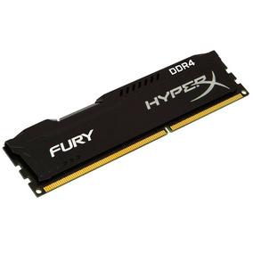 Memoria 8gb Ddr4 2666 Hyper-x Fury Black 1x8gb.