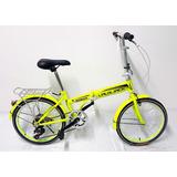Bicicletas Lauxjack Plegables De Acero Ligera Con Cambios