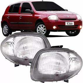 Farol Principal Renault Clio 2000 2001 2002 Foco Simples