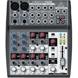 Mixer Behringer Xenyx 1002 Mezclador Sonido 2 Microfonos