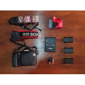 Câmera Canon 60d + Kit Com Acessórios | - 7 Mil Cliques