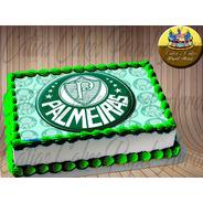 Palmeiras  Papel De Arroz 20 X 30 Cm Comestível Para Bolo