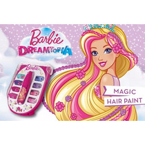 Barbie Magic Hair Paint Pinta Tu Pelo Juguetes Nenas Oferta