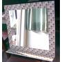 Espejo Venecitas 85x65 Con Estante
