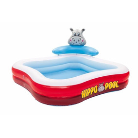 Pileta Inflable Hippo Pool Bestway 201 X 201 X 91 Cm