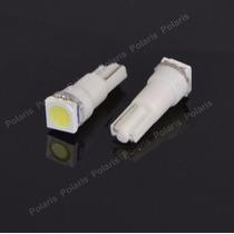 Lampada Led Pinguinho T5 Neon Para Painel Carro Moto Branca