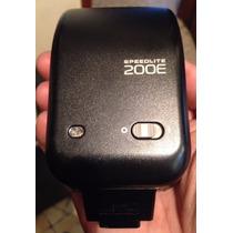Flash Canon Para Camaras Analogas Modelo Speedlite 200e