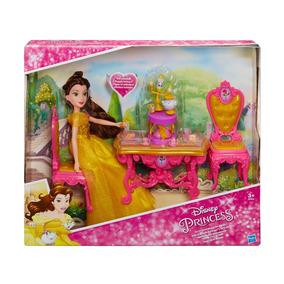 Boneca Princesas Disney - Cenário Da Bela - A Bela E A Fera