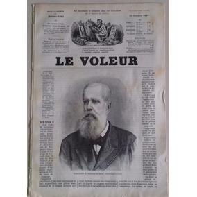 D. Pedro Ii (1887) Capa Da Le Vouler - Paris