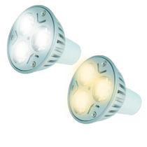 Foco Led Spot Ahorrador 3w Base Gu5.3(mr16) Luz Blanca,