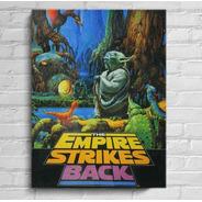 Quadros Star Wars Imperio Contra Ataca Impressão Em Canvas