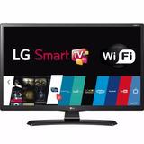 Smart Tv Monitor Led Lg 24 Hd 24mt49s-ps - Conexão Wi-fi