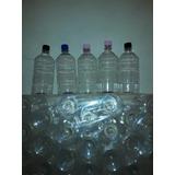 Botellas Pet De Litro Con Tapas Plasticas Bolsones Con 50 Un