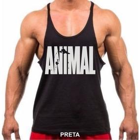 62094814ecbe2 Camiseta Regata Super Cavada Masculina Academia Musc Animal