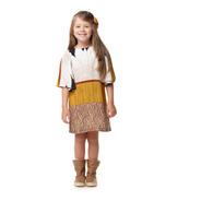 Vestido Girassol Amarelo Camu Camu Infantil Menina