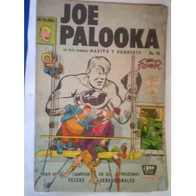 Joe Palooka # 46 Antiguo De 1958 Editorial La Prensa