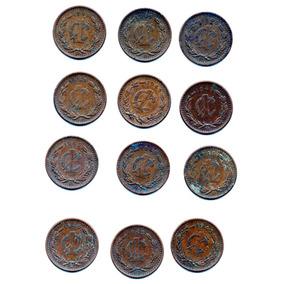 Moneda Antigua México Un Centavo Laurel 1945