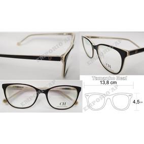 Armacao Oculos Grau Carolina Herrera De - Óculos no Mercado Livre Brasil 1f523c9d4a