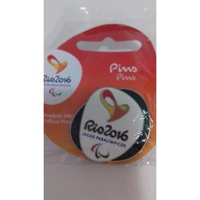 Pin Logomarca Paraolimpiadas Rio 2016 Cor Verde Escuro