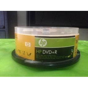 Dvd+r Marca H P 4.7 Gb 16x 120min Paquete De 25 Unidades