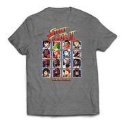 Remera Street Fighter #3512 Hombre Dtg Gris Melange