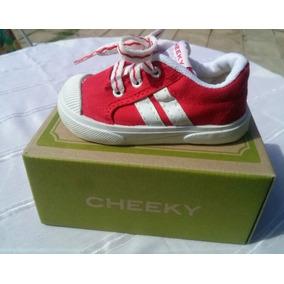 Cheeky Zapatillas Rojo Varon Nuevas Originales