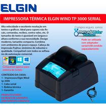 Impressora Não Fiscal Térmica Elgin 80mm Revis C/ Garantia
