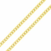 Corrente De Ouro 18k Masculina Grumet Grossa 60cm
