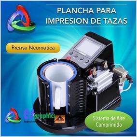 Impresora Neumatica Para Sublimacion De Tazas Y Cilindros