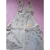 Macacão Jeans Da Chicote Tam P