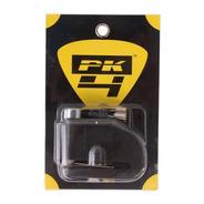 Traba Discomoto Reforzada Candado Pk4 Con Alarma Perno 7mm