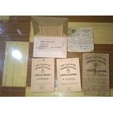 4 Libretas De Ahorro 1930/50/60 C/ Algunas Estampillas Sello