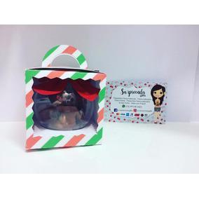 Bolinha De Natal Personalizada- Com Caixinha