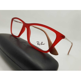 8e4de76880546 Montura Gafas Marco Para Lentes Ópticos Ray Ban Con Estuche