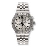 Reloj Swatch Yvs425g Acero Plateado Hombre