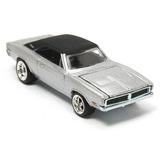 1969 Dodge Charger R/t Ruedas De Goma 100% Hot Wheels 2003