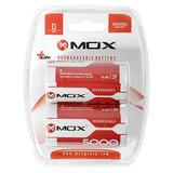 Pilha Recarregável Mox Tipo D 5000mah 1.2v Size D