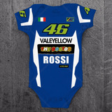 Body Valentino Rossi Moto Gp The Doctor 46 Infantil Bebê