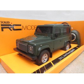 Radio Control Camioneta Land Rover Esc 1/24 Welly 16cm Once