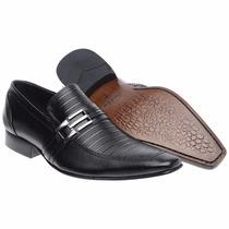 Sapato Social Masculino Solado Couro Bigioni Lançamento
