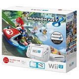 Wii U Mario Kart 8 Conjunto Blanco