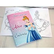 Livrinho Colorir Personalizado Tam. P 7 X10 Sem Giz R$ 1,00
