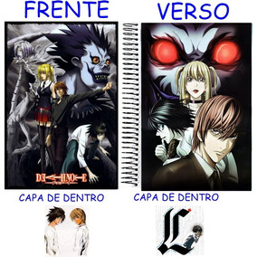 Caderno Do Death Note 10 Materias - 200 Folhas Mod 11