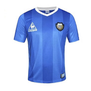 Camiseta Argentina Le Coq Mexico86 Maradona Aniv Alternativa