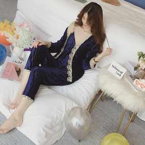 Pijama Fantasia En Terciopelo