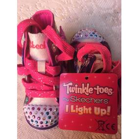 Zapatillas Niña Skechers Twinkle Toes Con Luces