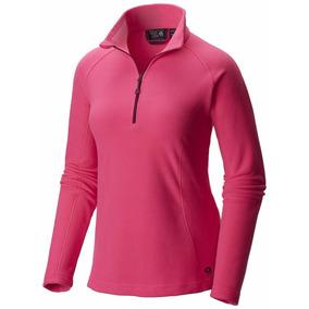 Sudadera Mountain Hardwear Fleece Zip T. Dama Talla G 30-32