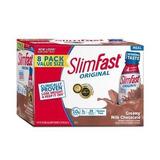 Malteada Slim Fast Sabor Milk Chocolate 32 Malteadas Origina