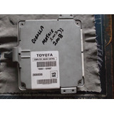 Computadora- Motor Ecm Toyota Corolla- Matrix1.8 Aut 2003-08