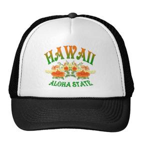 Gorra Trucker Camionero Estado De La Hawaiana De Hawaii B